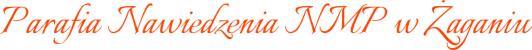 Parafia Nawiedzenia NMP w Żaganiu